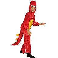 Kostým dinosaurus, červený - velký - Dětský kostým