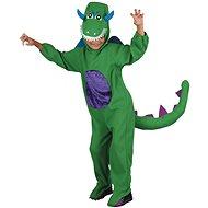 Kostým dinosaurus, zelený - velký - Dětský kostým
