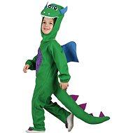 Kostým dinosaurus, zelený - malý  - Dětský kostým