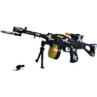 Battery-Powered Machine Gun - Toy