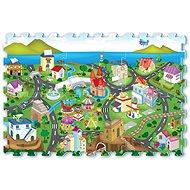 Puzzle pěnové - město - Pěnové puzzle