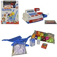 Battery-operated Cash Register and Shopping Cart - Toy