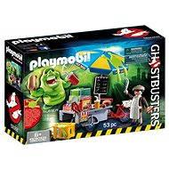 Playmobil 9222 Ghostbusters Slimer u stánku s hotdogy - Stavebnice