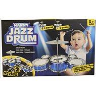 Bubny, 30cm, 5 bubnů a 1 činel - Hudební hračka