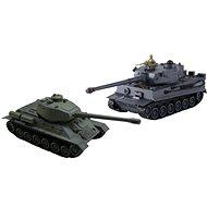 Sada bojujících tanků Tiger vs T34/85 - Tank na dálkové ovládání