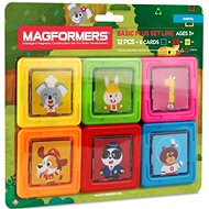 Magformers Animal Cards - Magnetic Building Set