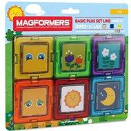 Magformers Kartičky obrázky - Magnetická stavebnice