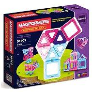 Magformers Pastelle 30 - Magnetická stavebnice