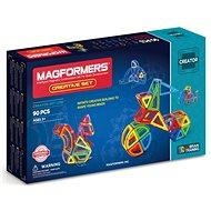 Magformers Creative 90 - Magnetická stavebnice