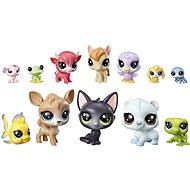 Littlest Pet Shop Velké balení zvířátek 12 ks Donuts - Herní set