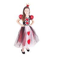 Kostým Princezna srdcová vel. M - Dětský kostým