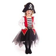 Kostým Pirátka vel. M - Dětský kostým