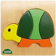 Lena Dřevěné puzzle - želva - Puzzle