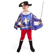 Kostým Mušketýr modrý vel. S - Dětský kostým