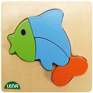 Lena Dřevěné puzzle - ryba - Puzzle