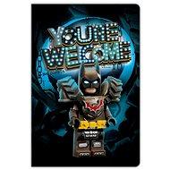 LEGO Movie 2 Batman - zápisník - Zápisník
