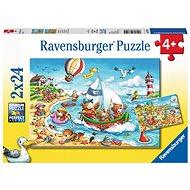 Ravensburger 078295 Dovolená u moře