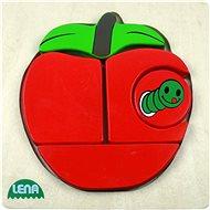 Lena Dřevěné puzzle - jablko - Puzzle