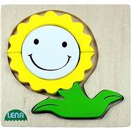 Lena Dřevěné puzzle - květinka - Puzzle