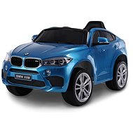 BMW X6M NEW - Single Seat, Blue Painted - Children's electric car