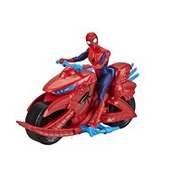 Spiderman on a Motorbike - Figurine
