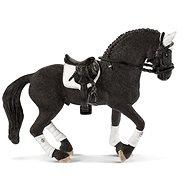 Schleich 42457 Turnajový hřebec Fríského koně - Figurka