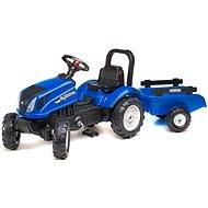 Traktor s valníkem - modrý - Odrážedlo