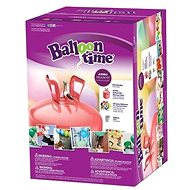 Helium Balloon Time 50 Children Set - Merry Faces Stickers, Balloons and Ribbon - Game set