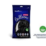 Balónky 50 ks černé - Balonky