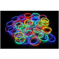 Svítící náramky 100ks, mix barev - Herní set