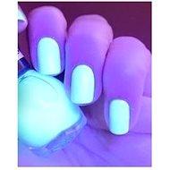 Svítící UV lak na nehty transparentní - Herní set