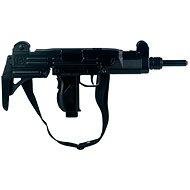 Samopal kovový černý 12 ran - Dětská pistole