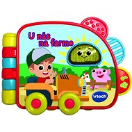Vtech knížka - U nás na farme SK - Kniha pro děti