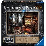 Puzzle Ravensburger 199549 Exit Puzzle: Dračí laboratoř - Puzzle