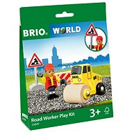 Brio World 33899 Hrací set práce na silnici - Vláčkodráha