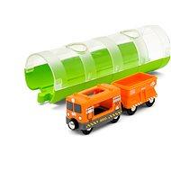 Brio World 33891 Tunel a nákladní vlak - Vláčkodráha