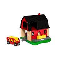 Brio World 33936 Farma Smart Tech - Vláčkodráha