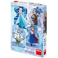 Dino Frozen Zimní pohádka 4x54 dílků - Puzzle