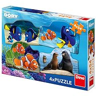Dino Hledá se Dory 4x54 dílků - Puzzle