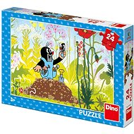 Dino Little Mole in Dungarees 24 pieces - Puzzle