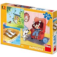 Dino My Fairy Tales, 3x55 Pieces - Puzzle