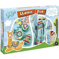 Lama duo 2v1 - dekorace kamenů a výroba deky - Kreativní sada