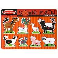 Melissa-Doug Zvířata na farmě - Puzzle