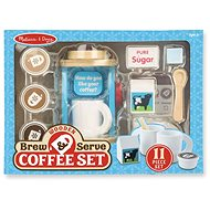 Melissa-Doug Set na příravu kávy - Dřevěná hračka