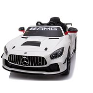 Mercedes-Benz GT4, White - Children's electric car