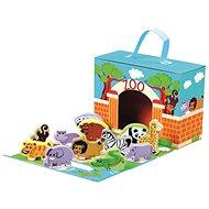 Didaktická hračka Cestovní kufřík se zvířáky - ZOO
