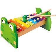 Xylofon kovový Žabka - Hudební hračka