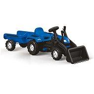 Dolu Šlapací traktor Ranchero s vlečkou a nakladačem - Šlapací traktor