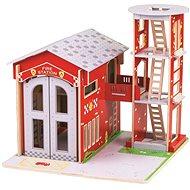 Bigjigs Toys Hasičská stanice - Herní set