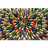 EkoToys Domino barevné 430 ks - Domino